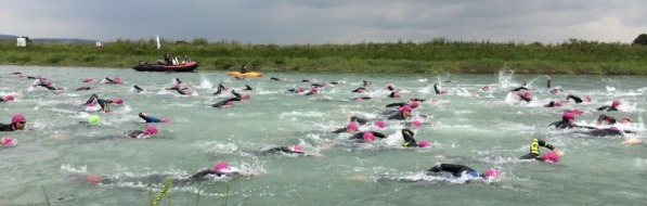 Vets Wave - River Arun Ironman Swim 2014